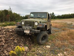 Looking for tube fenders for 1997 jeep TJ