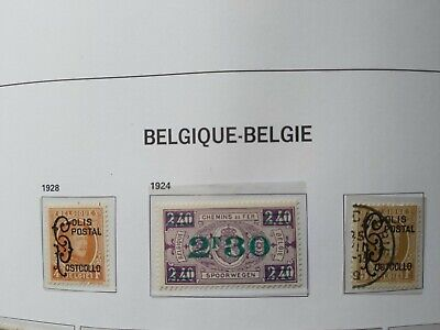 Belgique/België,3 val. TR 167+168+169