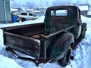 Wanted!  Hood and drivers door 47 to 53 chev truck