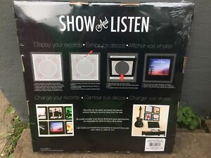 Show and Listen Record Display Case