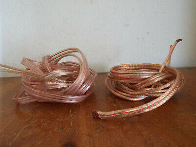 2x Speaker Cable 2.7m Gale Electronics Symphony BI Wire &2m of other thick cable for sale  Shipping to Ireland