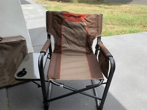 Wanderer Directors chairs with side table