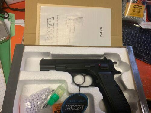 KWA Full Metal KZ75 CZ75 Gas Blowback Airsoft Pistol