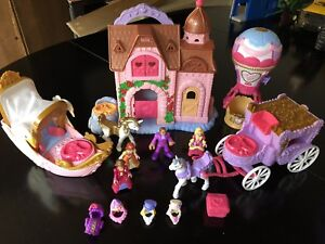 4 Fisher Price Precious Places play sets