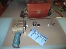 Vintage Bell and Howell - 1958 8mm movie camera Austoset 624EE Golden Grove Tea Tree Gully Area Preview