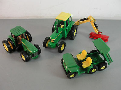 JOHN DEERE TRACTOR 8420 3185 RETRACTABLE HYDRAULIC ARM MOWER DIECAST GATOR LOT 3