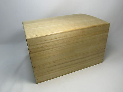 Japanese vintage paulownia Kiri wooden storage box Chabako for Tea ceremony item on Rummage