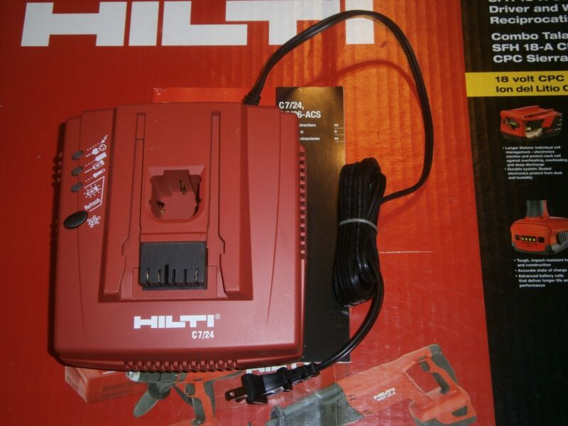 HILTI C 7/24 BATTERY CHARGER 115/120 V (NEW)