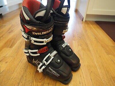 DALBELLO KRYPTON CROSS SKI BOOTS SIZE 25.5 MEN SIZE 7.5 AND WOMEN SIZE 8.5 Dalbello Krypton Ski Boots