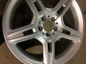 "Rssw amg rims 5 by 112  19""-9.0"""
