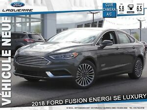 2018 Ford Fusion Energi SE Luxury**CUIR*CAMERA*BLUETOOTH*A/C**
