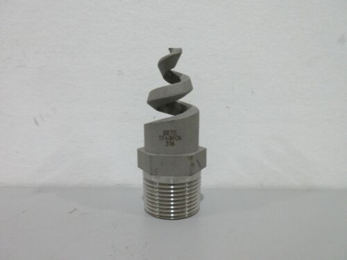 "New Bete TF48FCN 316 1"" Spiral Spray Nozzle"