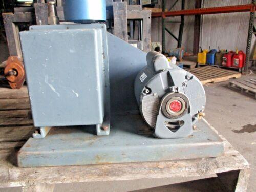 WELCH DUO-SEAL AEX30547 VACUUM PUMP W/GE 1/2 HP MOTOR, #1251237H USED