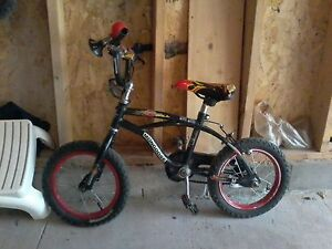 mongoose black bmx bike