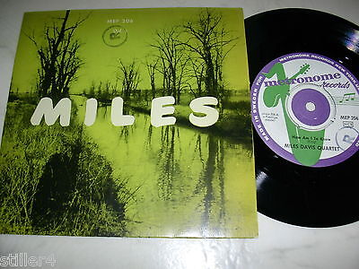 THE NEW MILES DAVIS QUINTET Miles Vol.2 How Am I To Know / Stable Mates 1956