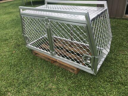 New Aluminium dog crate/cage