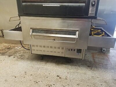 Middleby Marshall Js 350 Pizza Oven - Gas - 32 Conveyor -good Working Condition
