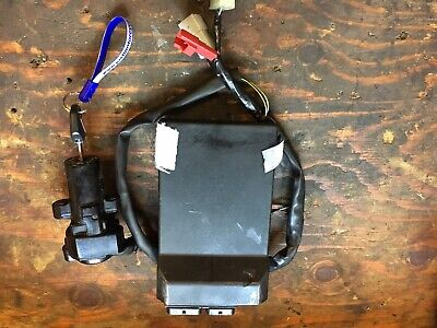 Yamaha R1 4c8 2007 -2008 ECU, Ignition Lock And Single Key