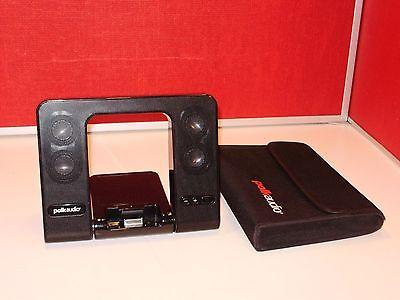 POLK AUDIO miDOCK PORTFOLIO PORTABLE (BATTERY POWERED) Ipod / MP3 SOUND DOCK