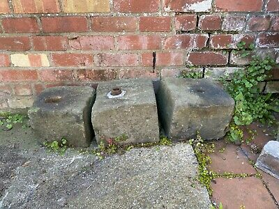 Reclaimed stone blocks. Dressed and Shaped. Approximately 300mm x 300mm x 300mm