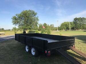 NEW PRICE Large Utility Flatbed Trailer For Sale