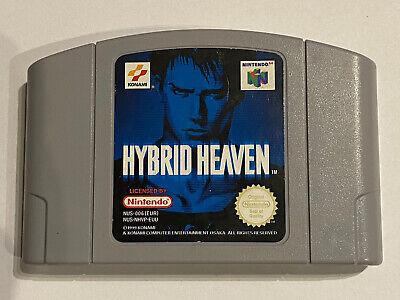 Nintendo N64 - Hybrid Heaven - N64 cart