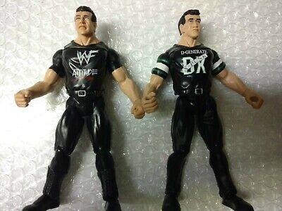 Jakks WWF Wrestling Shane and Vince McMahon TTL figure 1999 WWE Ring gear