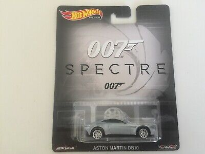Hot Wheels1:64 2019-Entertainment-007 Spectre Aston Martin DB10 NEW