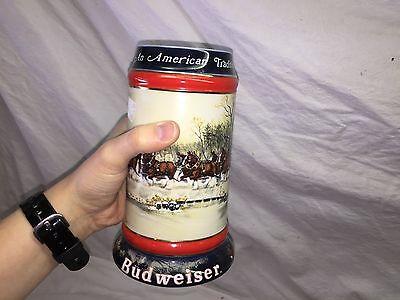 Budweiser Beer Stein an American Tradition 1990 (American Eyeglasses Store)