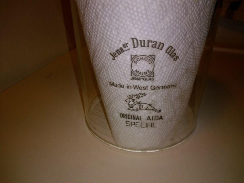 Jenaer Duran Glass Original AIDA Special Globe, German made Jena er
