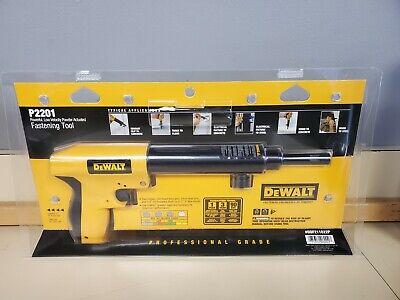 Dewalt P2201 Low Velocity Powder Actuated Fastening Tool Nail Gun New