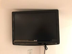 "22 "" Toshiba LCD tv with DVD and wall mount bracket"