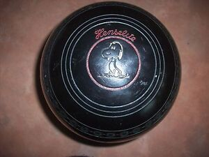 Henselite CLASSIC 11 Deluxe Lawn Bowls Size 4H Black Gripped Surfers Paradise Gold Coast City Preview
