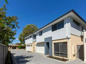 4x2x2 plus study, double storey townhouse in Rivervale $575/week