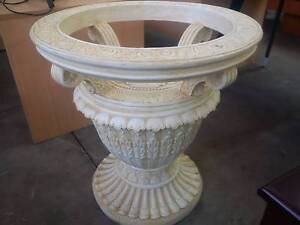 Amazing Round Glass Top Table $ 440. Ornate Plant Holder $ 320 Pitt Town Hawkesbury Area Preview