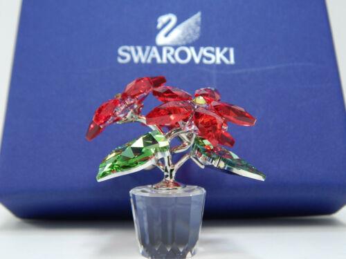 New Swarovski Poinsettias Red Christmas Flowers - Retired 905209 - Xmas Special!