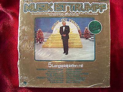 V. A. - Musik ist Trumpf     EMI   5er LP Box NEU OVP