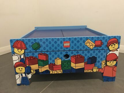 LEGO table with drawer