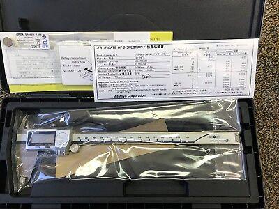 Mitutoyo 500-753-20 0-8 Digimatic Caliper 0005 001 Mm No Spc Ip67