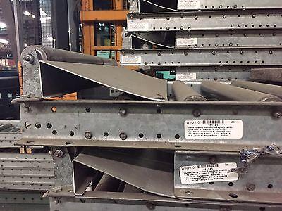 Gravity Conveyor Roller w/ package stop