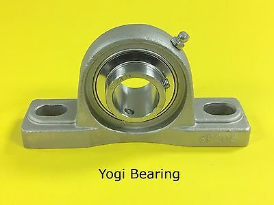 1 Stainless Steel Pillow Block Bearing Sucsp205-16 - Solid Base