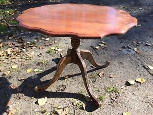 Antique small side table