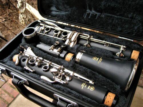 Clean/Fully Adjstd Yamaha YCL250 Clarinet New Accessories Vandoren 5RV Mthpc USA