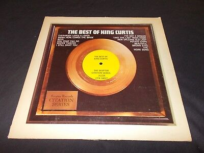KING CURTIS The Best Of King Curtis LP '73 SCEPTER