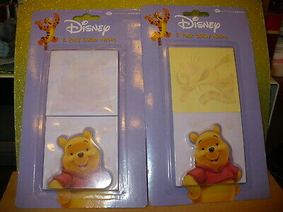 New National Design Disney Winnie The Pooh Sticky Notes 2 Packages