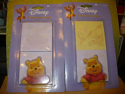 NEW ~ National Design DISNEY WINNIE the POOH Sticky Notes (2 packages)