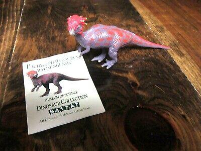 Battat Boston Museum of Science dinosaur original Pachycephalosaurus w/ hang tag