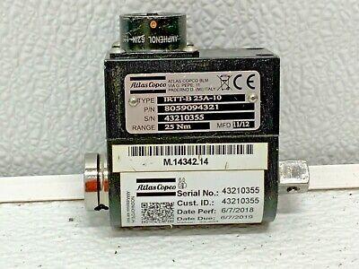 Atlas Copco Torque High Accuracy Rotary Transducer Irtt-b 25a-10 243i