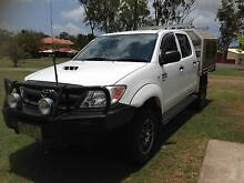 2007 Toyota Hilux Dual Cab (4x4) Tray Back Ute Sarina Mackay Surrounds Preview