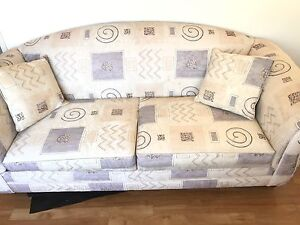 Sofa bed with inner spring mattress - price drop $250 North Brighton Holdfast Bay Preview